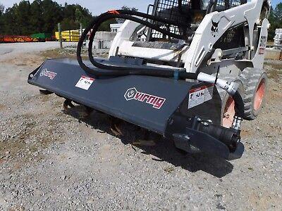 """Bobcat Skid Steer Attachment - 72"""" Virnig Tiller Soil Conditioner - Ship $199"""