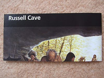 RUSSELL CAVE National Park Brochure Trail of Tears+ CENTENNIAL PASSPORT STAMPS