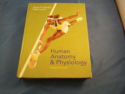 Human Anatomy & Physiology Hardcover  Marieb. Serena Williams 7th Edition (Human Anatomy And Physiology Marieb 7th Edition)