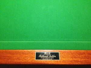 9FT B&B slate Billiard Table with Accessories Doncaster East Manningham Area Preview