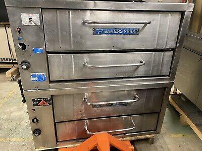 Bakers Pride Double Deck Pizza Oven Model 252 No Stones