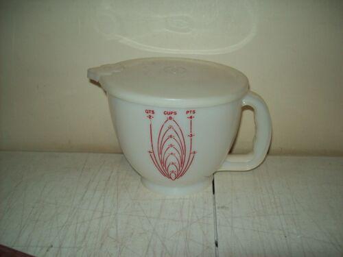 original Tupperware Mix N Stor 8 cup measuring cup Vintage NO METRIC measure