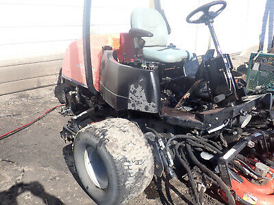 Jacobsen Textron Lf3800 Tractor Fairway Mower Whole Or For Parts Kubota