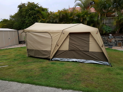 Black Wolf turbo 300 Canvas tent and accessories brand new & Black wolf Turbo 300 plus tent | Camping u0026 Hiking | Gumtree ...