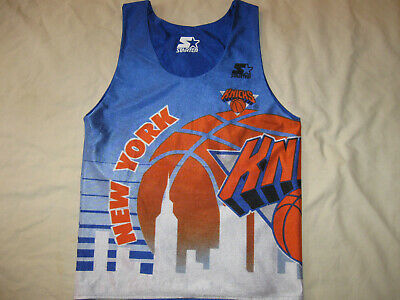 New York Knicks Jersey Vintage Starter Youth Small Boys Reversible 90s NBA NYN