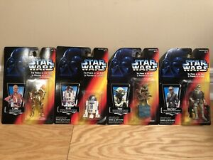 Star Wars POTF Group of 4