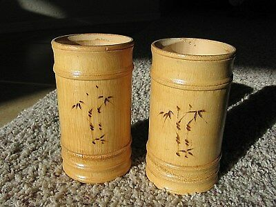 AUTHENTIC BAMBOO TUMBLERS