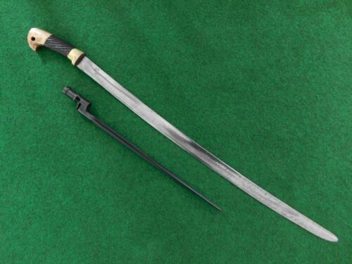 ORIGINAL RUSSIAN WW2 M 1927 SHASHKA SWORD WITH MOSIN-NAGANT M 1891/30