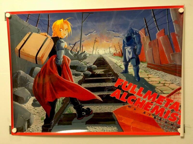 【VeryRare】Full Metal Alchemist  Elric/Alphonse Anime B2 size Original Poster