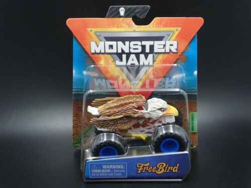 2020 SPIN MASTER MONSTER JAM MONSTER TRUCK MIX 12 FREE BIRD CRAZY CREATURES NEW