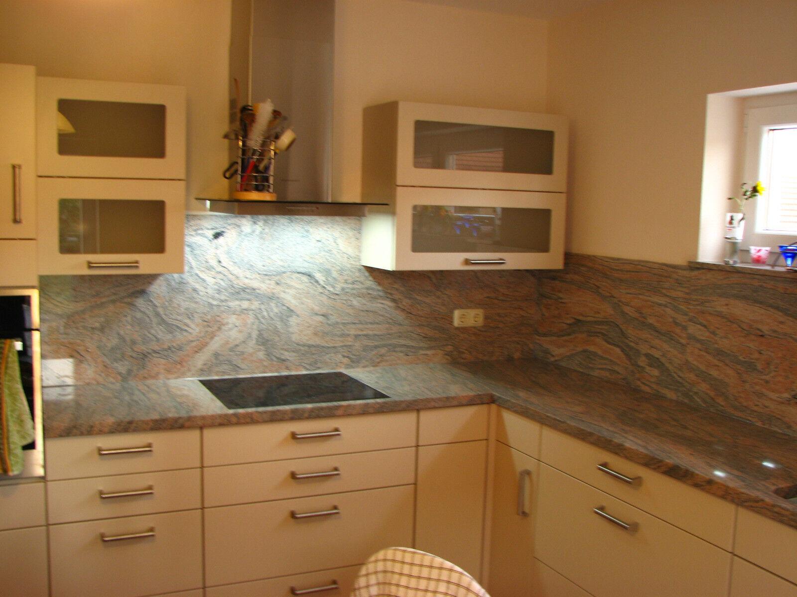 r ckwand k chenarbeitsplatte arbeitsplatte k cheninsel k che granitplatte stein eur 119 00. Black Bedroom Furniture Sets. Home Design Ideas