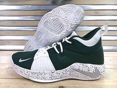 1e8936a71 Nike PG 2 iD Basketball Shoes Green White Silver Speckle SZ 11 ( CI0280-991  )