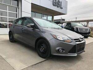 2014 Ford Focus Titanium W/ Leather, Sunroof, Automatic