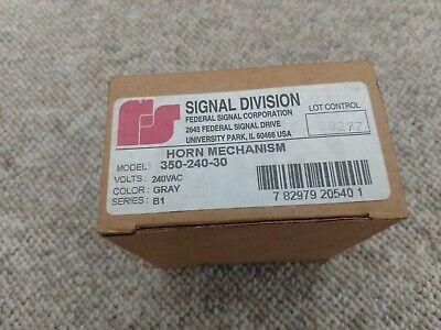 Federal Signal 350-240-30 208240v Vibratory Horn