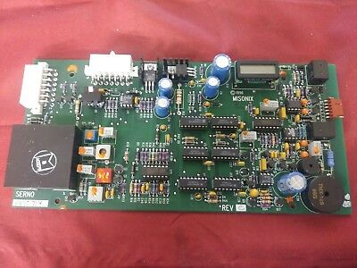 Misonix E0201aml20 Rev C Main Mother Board Control Pcb Ac Serno Component Parts