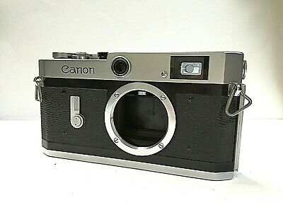 [ Excellent ++++ ] Canon P 35mm Rangefinder Film camera Body only JAPAN (1809 )