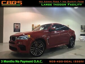 2016 BMW X6 M NAVIGATION | 360 CAMERA | LEATHER INTERIOR