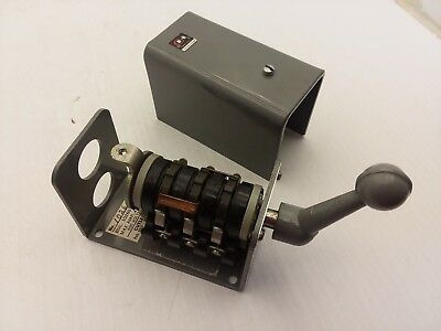 Cutler Hammer 10260 H151 Forward Reverse Switch Size 00 10a 600v Max