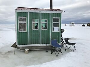 Wanted or trade for larger ice hut