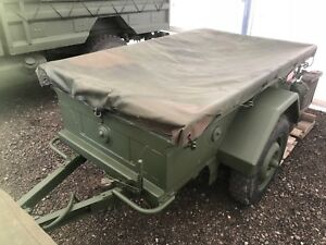 M101CDN 1/4 Ton Military Trailer