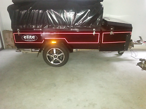 Camper trailer by 'Elite' Waterford Logan Area Preview