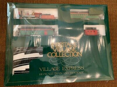 Dept 56 Heritage Village Express Bachmann Electric Train Set Ho Scale 5980-3.