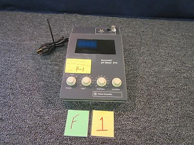 Fisher Scientific Accumet Ph Meter 910 Electro-chemical Measurment Temperature