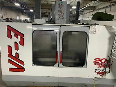 Haas Vf3 48x 18table 10k Rpm Spindle Cnc Vertical Machining Center New 98