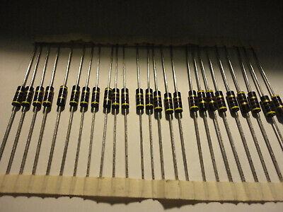 25pcs Allen Bradley 470 Ohm-12w-5 Carbon Comp. Resistor