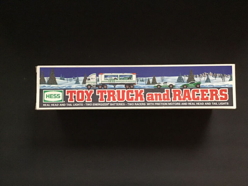Hess Toy Truck and Racers Holiday Semi Truck 1997