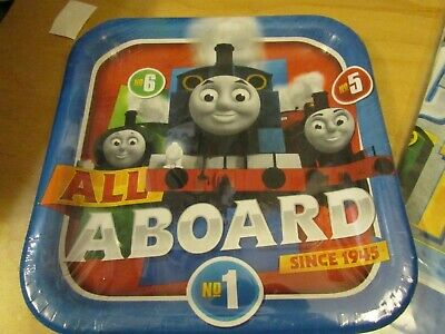 Thomas The Train & Friends Birthday Party Supplies Plates SET OF 8