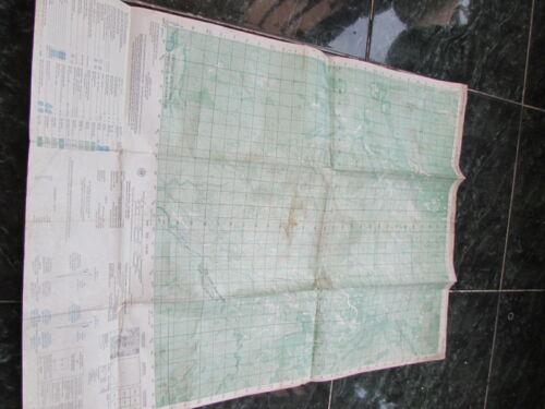 vietnam war  MAP_MACV_TIỀU-TEO_PLEIKU_S 6535 I_L7014