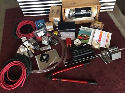 Complete Deluxe Electric Car Truck Conversion Kit Plus Ev America 144V Turn Key
