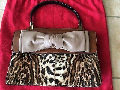 Valentino Aphrodite Satchel Pony Hair handbag purse pristine new dustbag animal