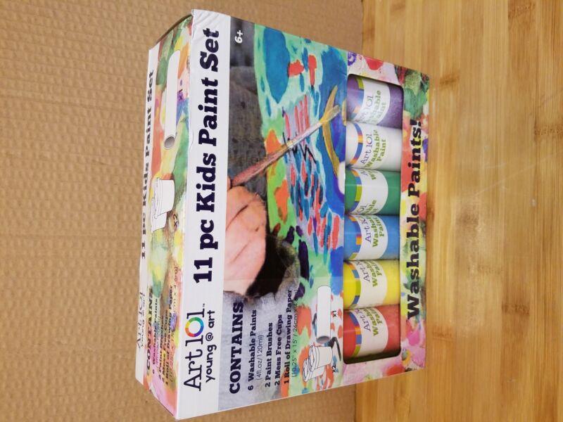 Art 101 Young @ Art 11 pc Kids Washable Paint Set