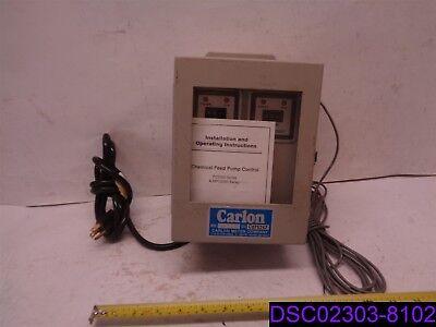 Carlon Chemical Feed Pump Control Pc5000 Mpc5000 Series Model Mpc-5002