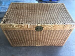 Large Whicker Chest