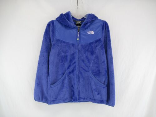The North Face Girls Fleece Zip Up Jacket Size L (14-16 )#A195