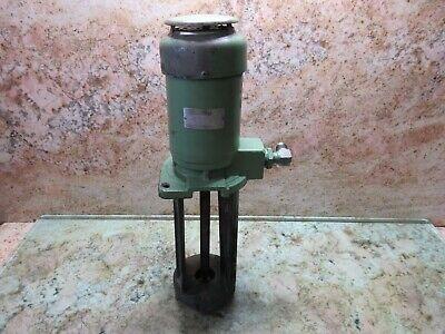 Fuji 3phase Electric Oil Pump Type Vkp091a 400w Ikegai Fx25 Ii Cnc Lathe