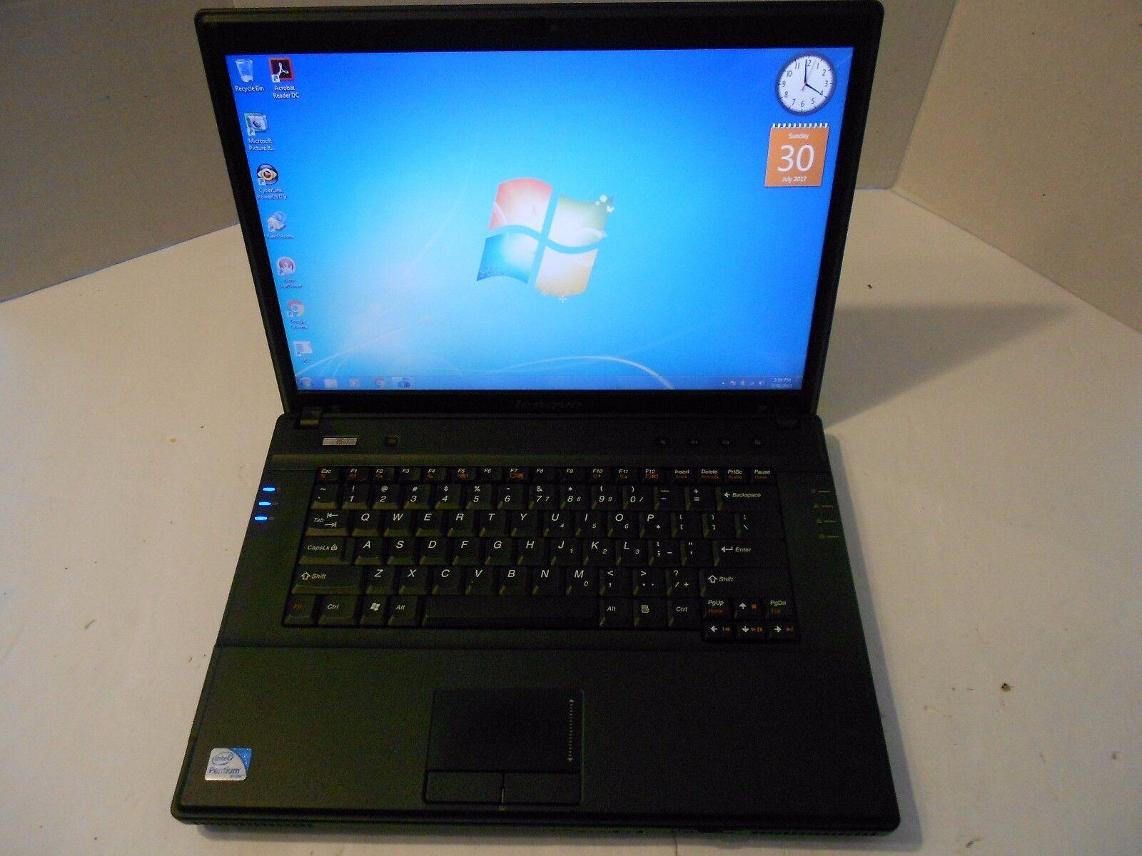 LENOVO 3000 G530 CORE 2 DUO T6600 2.2GHz 3GB RAM 250GB HDD WINDOWS7 OFFICE13
