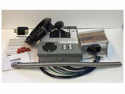 Generac 6408 Prewired Transfer Switch Kit For Portable Generators New Open Box
