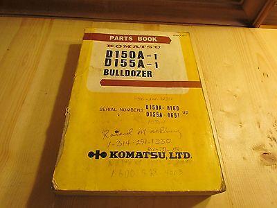 Komatsu D150a-1 D155a-1 Parts Book D150a.1-pe11