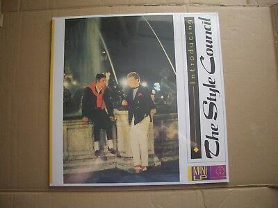 STYLE COUNCIL - INTRODUCING - MAGENTA COLOURED VINYL LP - NEW / SEALED - THE JAM