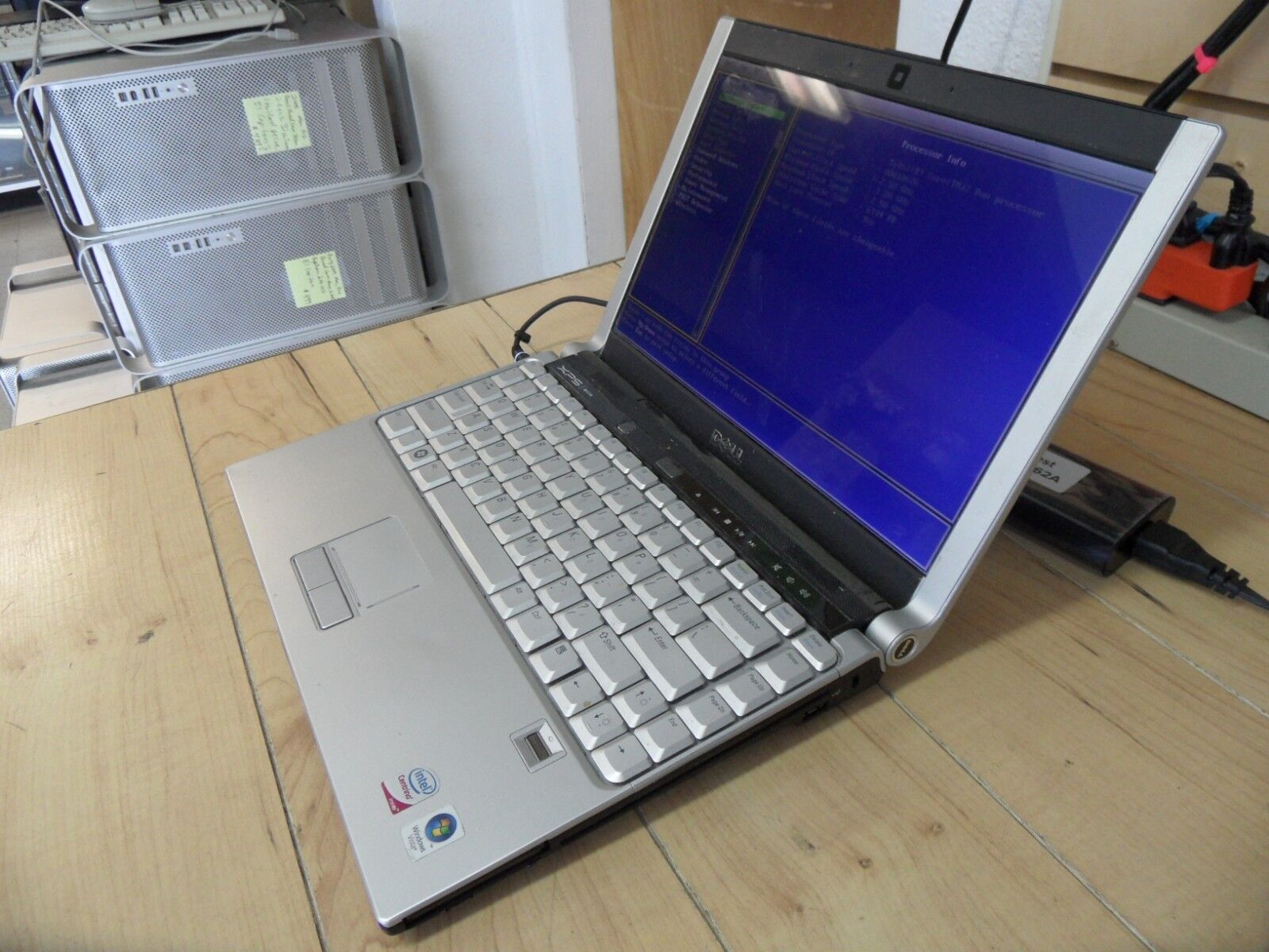 Dell XPS M1330 Laptop For Parts Posted Bios No Hard Drive