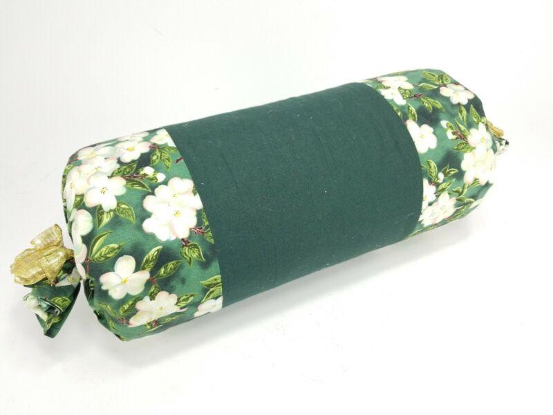 """Bobbin Lace Pillow Tube 15"""" x 7.5"""" Diameter Vintage Antique"""