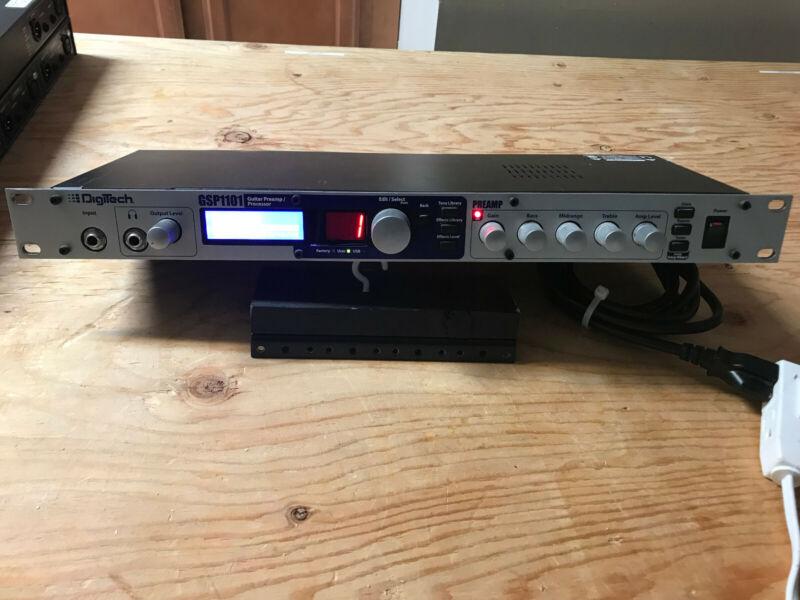 Digitech GSP1101 Guitar Multi Effects Processor