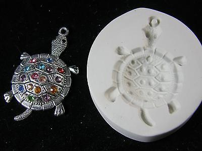 Turtle Polymer Clay Mold (#MD1518)