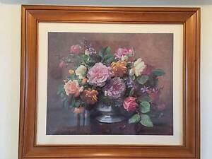 Framed floral print Geelong Geelong City Preview