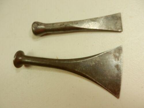 2 Vintage Caulking Chisels, Drew and Stortz