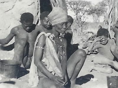 Afrika Zulu Frau Kinder Eingeborene 30iger Jahre Südwestafrika